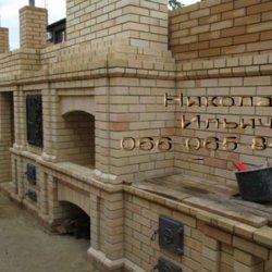 Кладка каминов, барбекю, печных комплексов. Ремонт печей, иные печные работы.